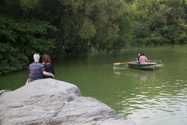Couples by the Lake, Central Park on Tuesday August 20, 2013. ©Freja Dam