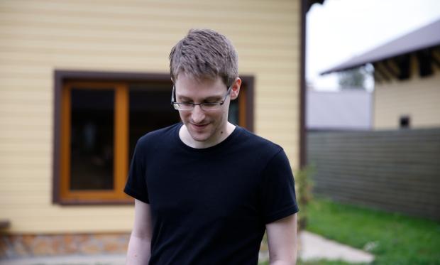 "Edward Snowden i ""Citizenfour."" Foto: Laura Poitras"